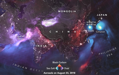 NASA Creates Glowing Map That Shows Dust Clouds Across Earth