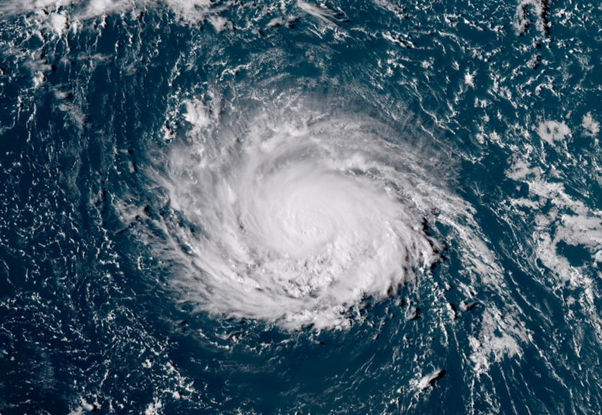 Hurricane Florence, a Serious Threat to the US East Coast