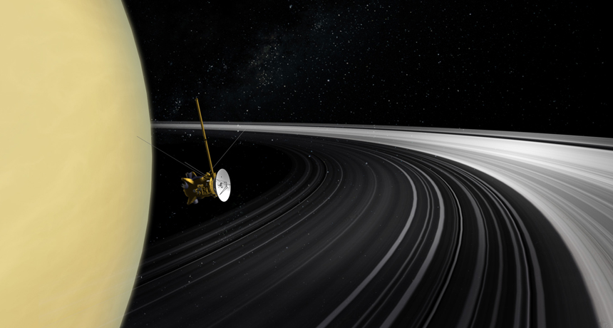 "NASA Reveals ""Ring Rain"" on Saturn and Thanks Cassini for it"