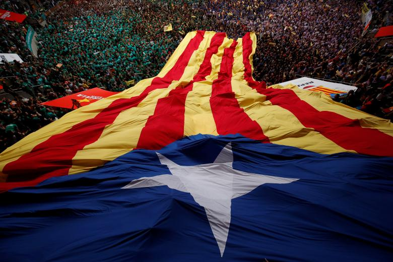 In Pictures: The Human Towers of Catalonia