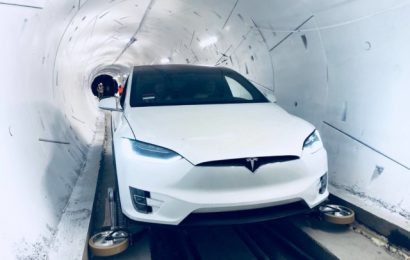 Elon Musk Launches Prototype for Transport Tunnel in LA