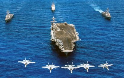 Chinese Admiral's Solution to Dominate the South China Sea Is to Sink US Aircraft Carriers