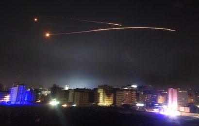 Israeli Military Hits Iranian Targets Inside Syria