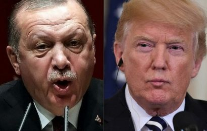 President Trump Threatened To Hit Turkey Economically If They Attack Kurds