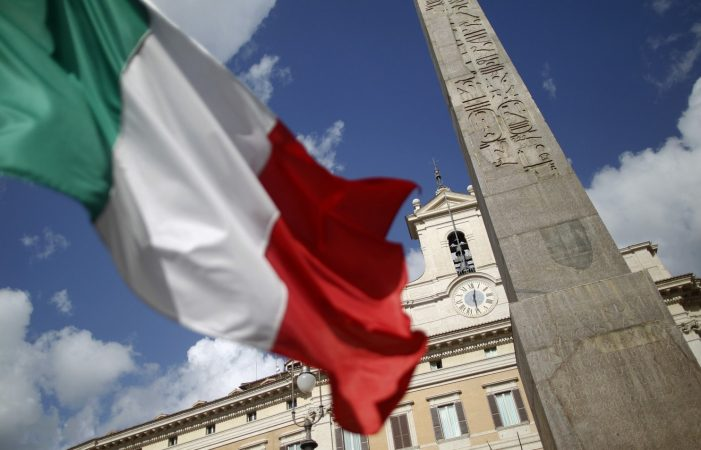 Italy Falls Back Into Recession
