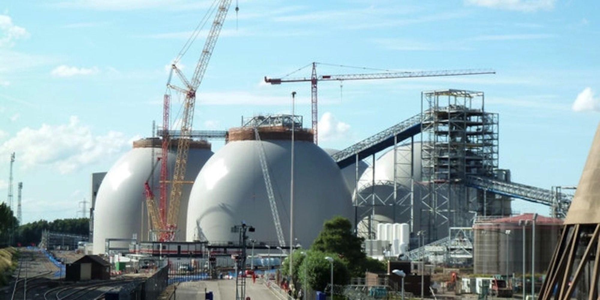 UK Power Plant Starts Carbon Dioxide Capture Project