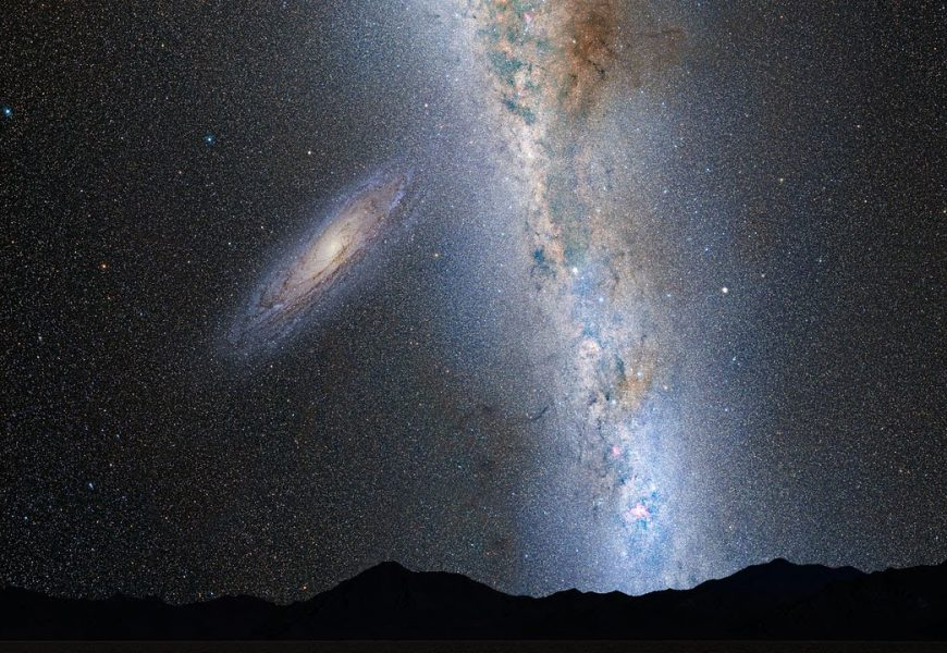 We Now Know When The Milky Way Will Collide With The Neighboring Galaxy