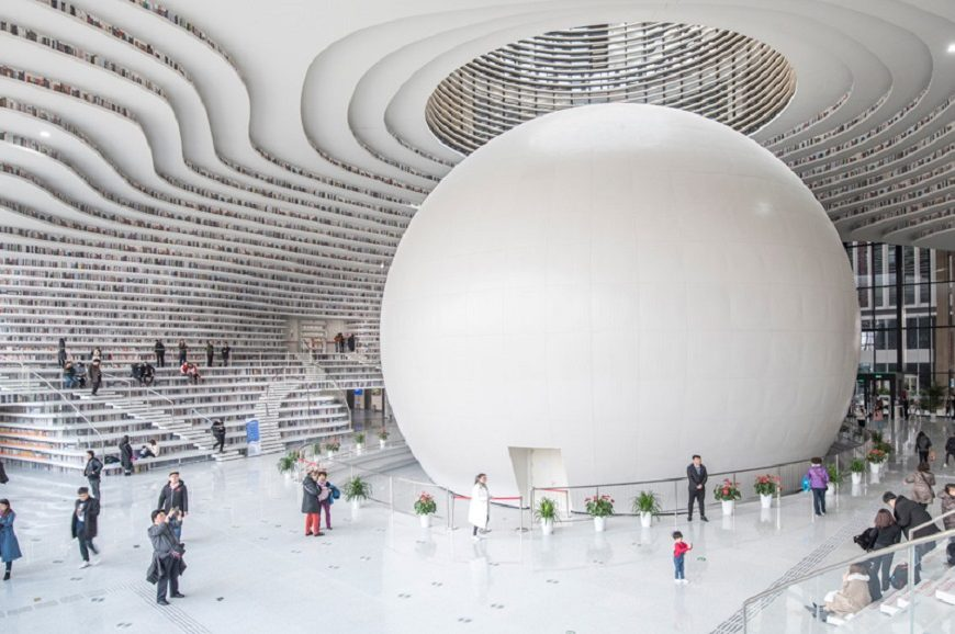 In Pictures: Beautifully Designed Contemporary Libraries