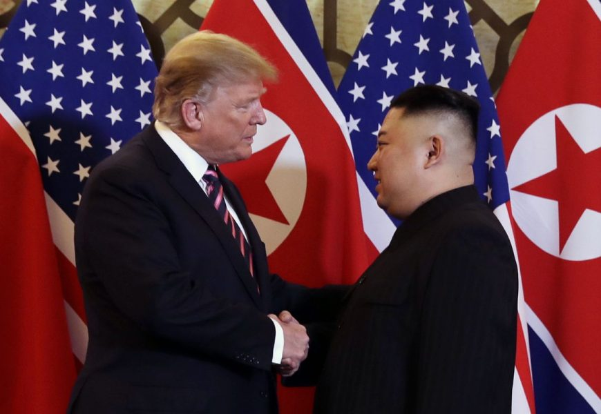The Second Summit Meeting Between Trump And Kim Took Place In Vietnam