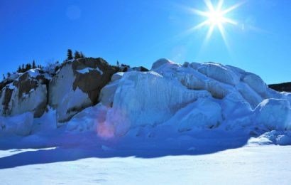 In Pictures: Ontario Ice Caves
