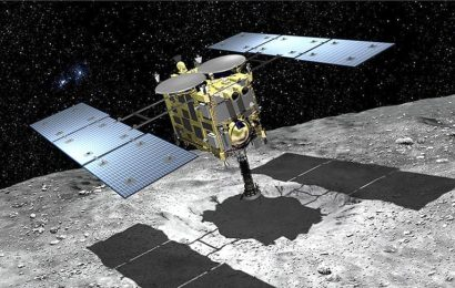 Japan's Hayabusa 2 Spacecraft Might Have Just Bombed An Asteroid