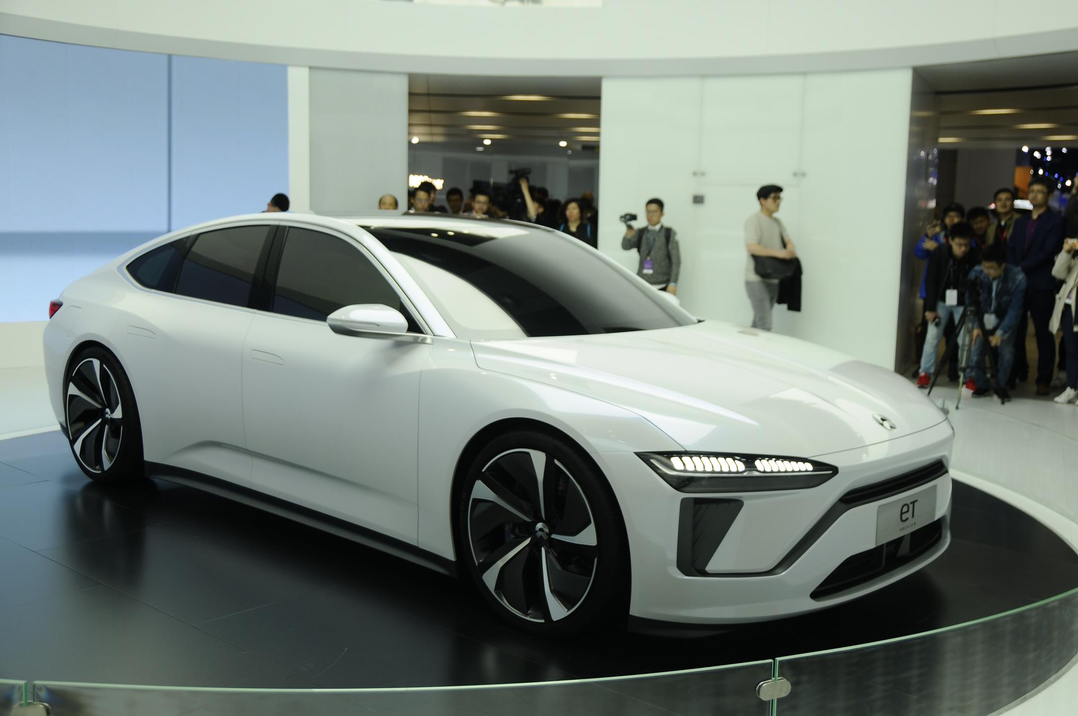 The Electric Sedan Was The Star At Shanghai's Recent Auto Show