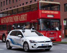 Volkswagen Is Testing Self-Driving Cars In Hamburg, Germany
