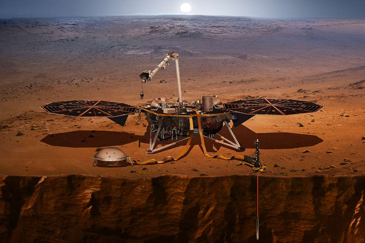 "NASA's InSight Lander Just Detected The First ""Marsquake"""