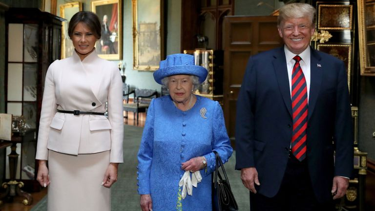 Trump Will Make A State Visit To The UK And France In June