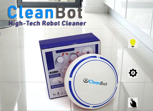 CleanBot High-Tech Robot Cleaner is Now Available with Special Discounts Online