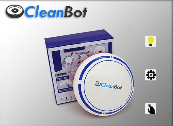 Save money and time with the top robot vacuum cleaner, the CleanBot