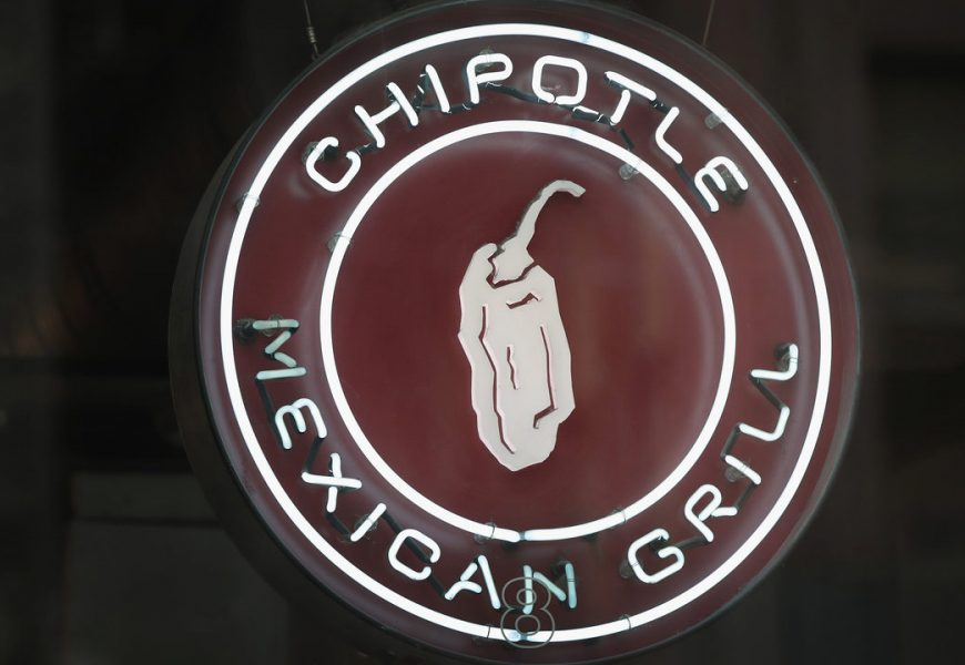 Chipotle Stock Went Up 55% This Year
