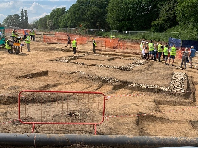 Remains of Roman Town Were Discovered Next to Kent Motorway