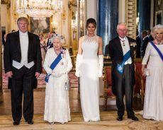 President Trump Began His UK Visit And Met With The Queen