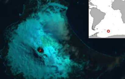 Lava Lake Was Discovered on Remote British Island