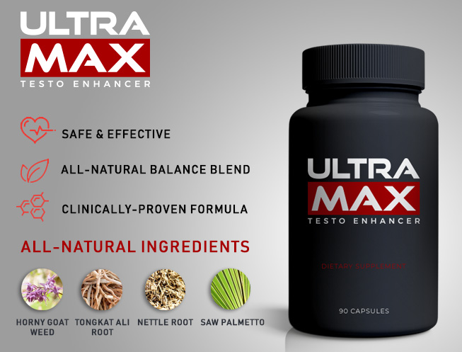 The UltraMax Testo Enhancer – reviews, side effects and special launch price offers