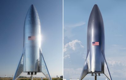 SpaceX Unveils Massive Starship Prototype Design