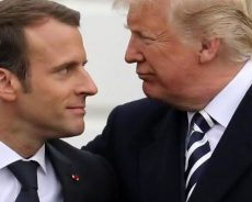 Trump slams Macron for the 'non-answer' on ISIS fighters, in a tense meeting overseas