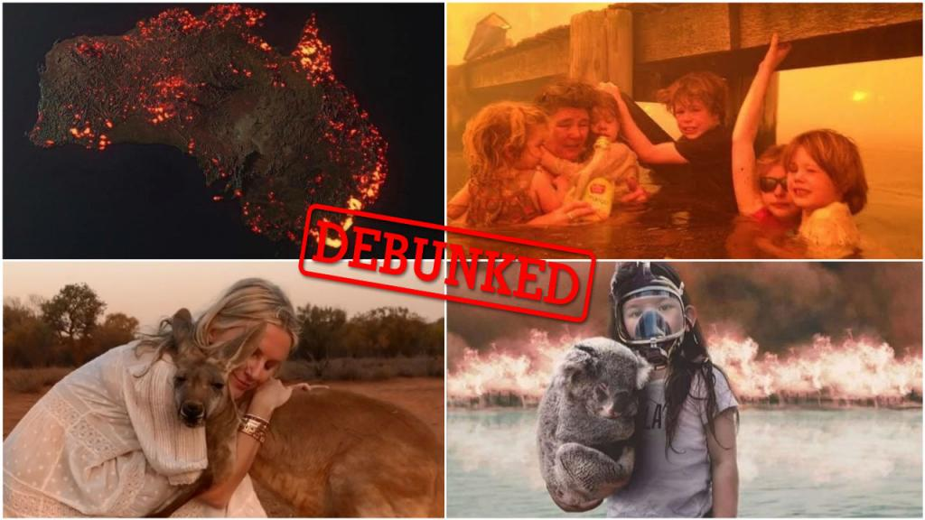How fake bushfire images and misleading maps of Australia are spreading on social media