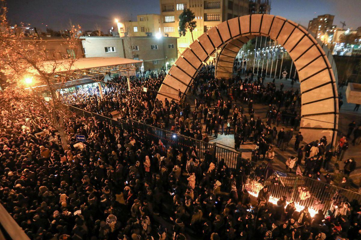 Democrats remain silent on Iran protests as demonstrators blame regime, not Trump, for plane crash