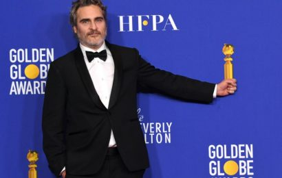 Joaquin Phoenix drops several F-Bombs in his Golden Globes speech, blasting Hollywood hypocrisy