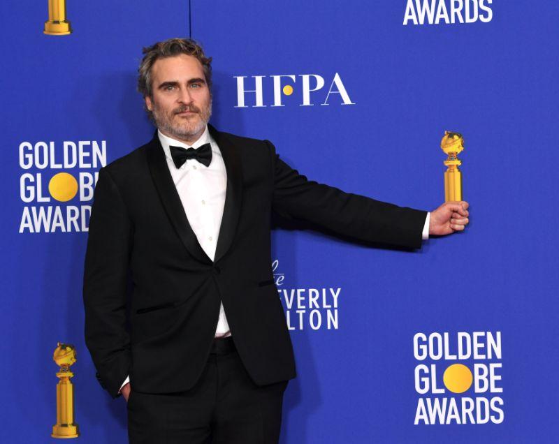 Joaquin Phoenix drops several F-Bombs in his Golden Globes speech, blasting Hollywood hypocrisy